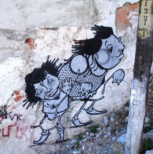 El deleite de la transgresion. Graffiti y gráfica política en la ... a11a87f5d152f