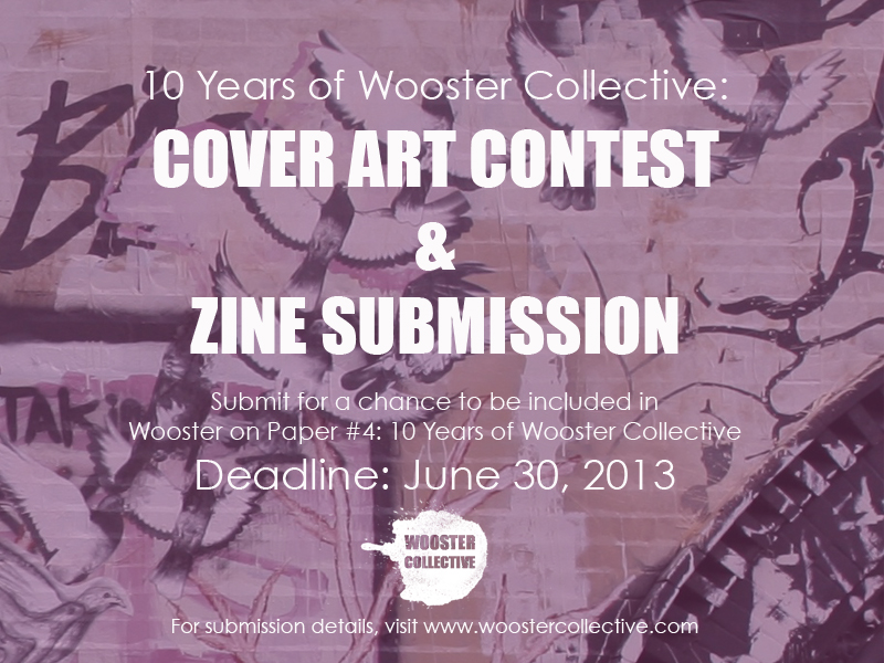 Cover Art Contest & Zine Submission