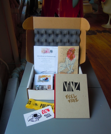 VINZ Feel Free Limited Edition Box Set
