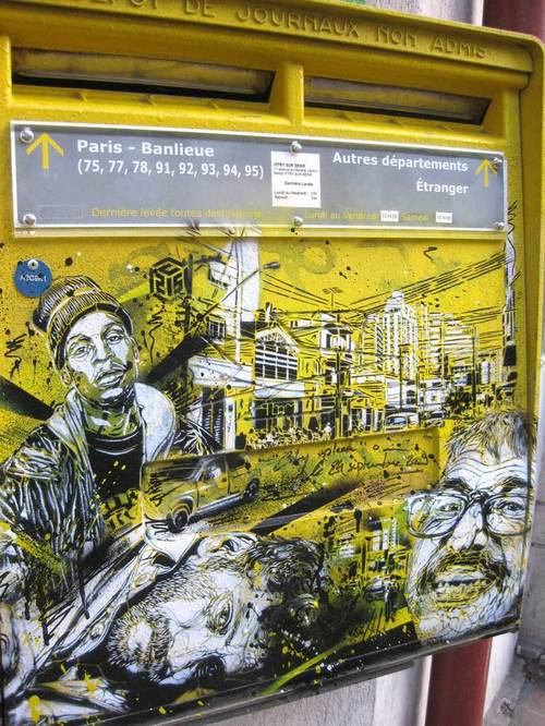 Fresh Stuff From C215 in Paris