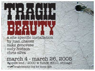 Chicago Beauty on Chicago   March 4   Tragic Beauty   Wooster Collective