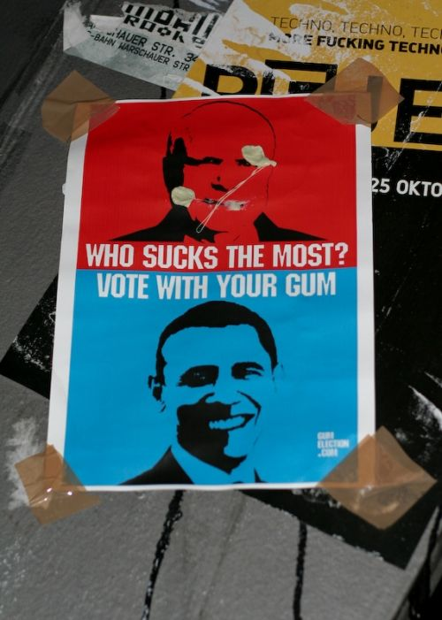 vote com chiclete!