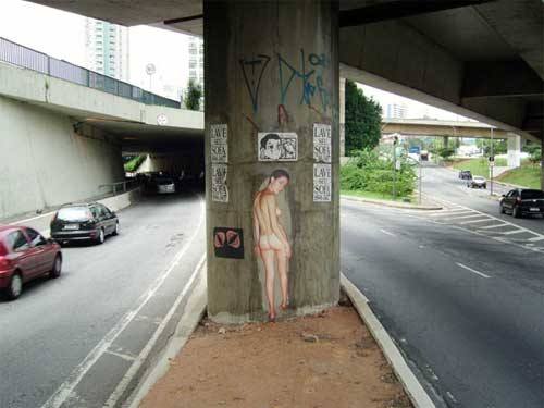 senna2 Nude Art? Exhibitionist? Provocative? Lazy? Alessandra Cestac in São Paulo.