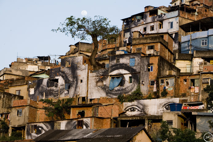 jr in the favelas of rio wooster collective