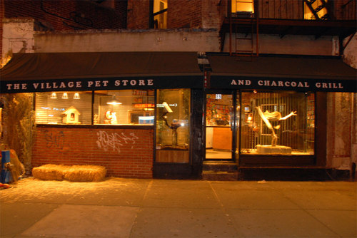 The Village Pet Store And Charcoal Grill Opens In